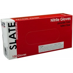 Slate Black Nitrile Gloves, Industrial Powder Free, 100/Box, 1000/Case