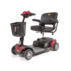 Buzz Around XLS-4 Wheels Scooter, W/ Suspension 300 lbs Capacity By Golden Technologies