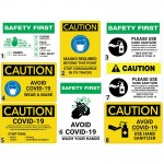 Business Safety COVID-19 Signs