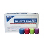 "Cohesive Bandege, Assorted Color, 1""  Non-Sterile,"