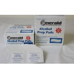 Alcohol Prep. Pads 200/Box Emerald