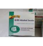 Alcohol Swabs, Pack of 3, 100 Total