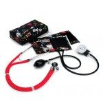 Aneroide Sprague Blood Pressure Kit, Hope Pink Rib. Black