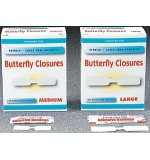 Butterfly Wound Closures Large 100/Bx 24Bx/Cs
