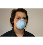 Cone Shaped Face Mask Blue 600/case