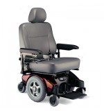 Invacare Power Chair, Gray M94, Wt. Cap 500Lbs