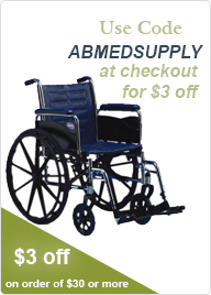 Use code ABMEDSUPPLY for $3 Off!