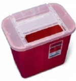 Sharp Needle Container 2 gallons 24/Cs