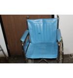 "Used Wheel Chair 18"" Light Blue"