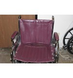 "Used Wheel Chair 22"" Burgandy"