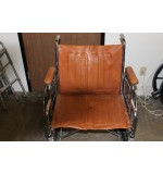 "Used Wheel Chair Everest & Jenings 22"", Brown"