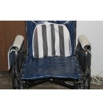 "Used Wheel Chair Invacare 20"" Dark Blue"