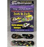 "Vinyl KidsStrip Bandages Zeek & Zack Alien 3/4"" x 3"" 60/Bx"